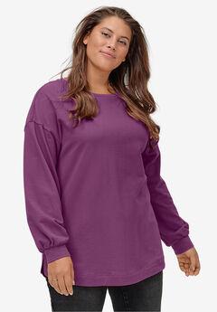 Blouson Sleeve Sweatshirt Tunic by ellos®,