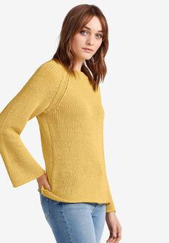 Raglan-Sleeve Sweater by ellos®,