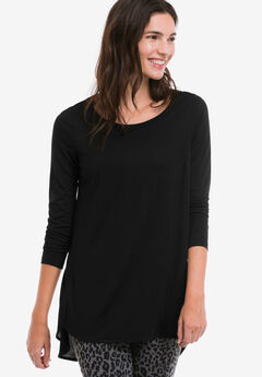 High/low Shirttail Hem Tunic by ellos®,