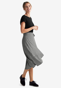 Print Wrap Skirt by ellos®,