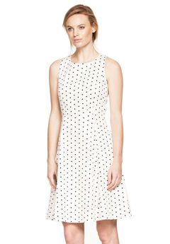 Sleeveless Fit and Flare Dress by ellos®,