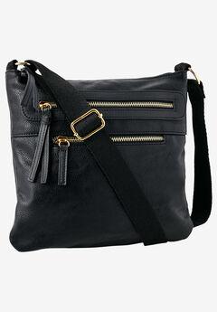 Multi-Zip Crossbody Bag by ellos®,