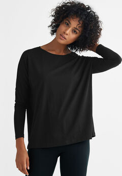 Boxy Sleep Tee by ellos®.  16.90. Cowl Neck Fleece Poncho ... e4b98e6b8