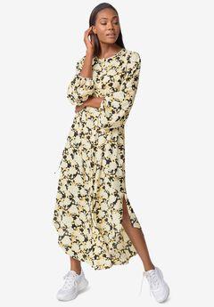 Shirttail Maxi Dress,