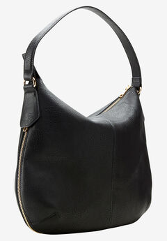 Expandable Hobo Bag by ellos®, BLACK, hi-res