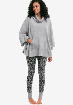 Rib Trim Sleep Leggings by ellos®,