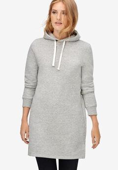 Hooded Sweatshirt Tunic,