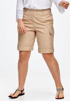 Convertible Cargo Shorts by ellos®,