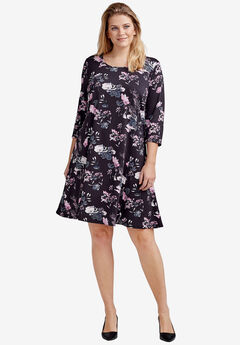 Madison 3/4 Sleeve Dress by ellos®,