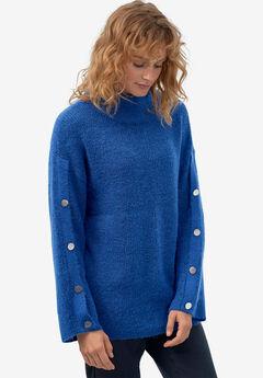 Bell-Sleeve Sweater by ellos®,
