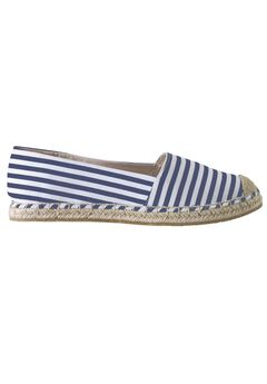 Striped Espadrille Flats by ellos®,