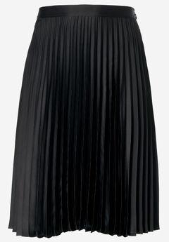 Soft Pleated Skirt by ellos®, BLACK