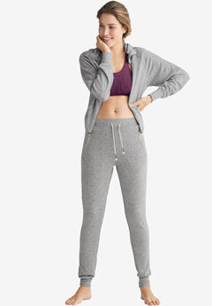 Marled Zip Pocket Sweatpants by ellos®,
