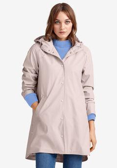 Snap-Front Raincoat by ellos®,