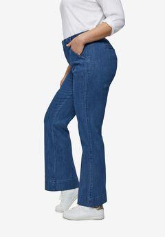 High-Waist Wide Leg Jeans,