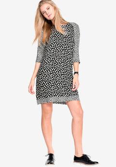 Printed Shift Dress by ellos®,