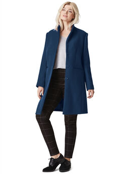Malin Wool-Blend Coat,