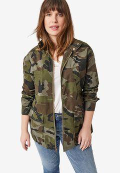Camo Utility Jacket by ellos®,