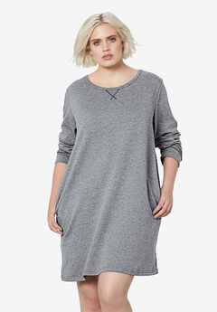 9895061fa02 French Terry Tunic Dress by ellos®