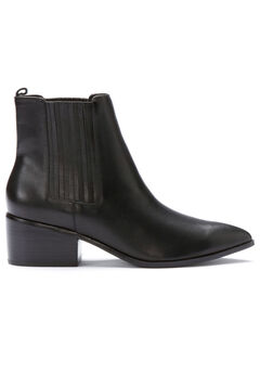 Leather Chelsea Bootie by ellos®,