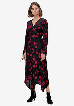Hanky-Hem Wrap Dress by ellos®,