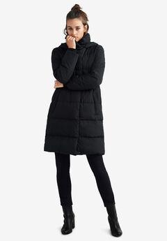 Long Hooded Puffer by ellos®,