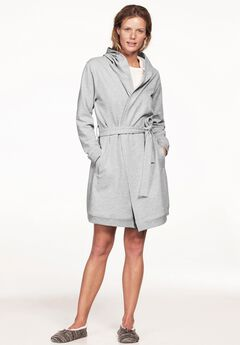 Hooded Fleece Robe by ellos®,