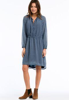 A-Line Peasant Dress by ellos®,