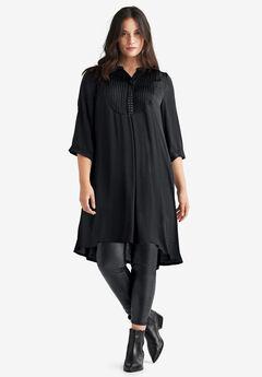 Studded Tunic Dress by ellos®, BLACK, hi-res