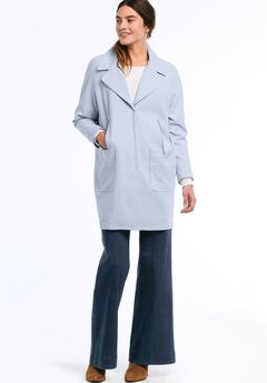 Relaxed Zip Pocket Coat by ellos®,