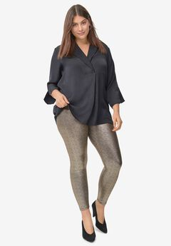 Metallic Leggings by ellos®,