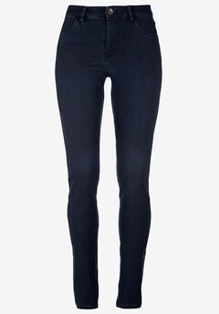 High-Waist Skinny Jeans by ellos®,