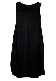 Sleeveless Shift Dress by ellos®, BLACK