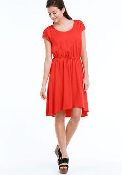 Lace Back Yoke Dress by ellos®,