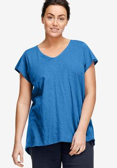 V-Neck High/Low Tunic by ellos®,