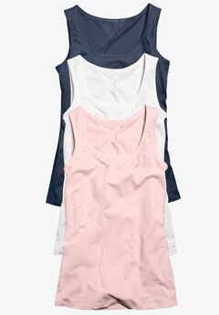 3-pack Sleeveless Tank by ellos®,