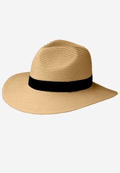 Straw Panama Hat,