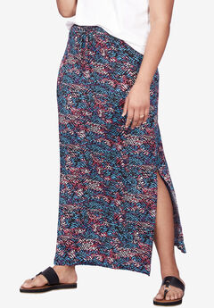 Knit Maxi Skirt by ellos®,