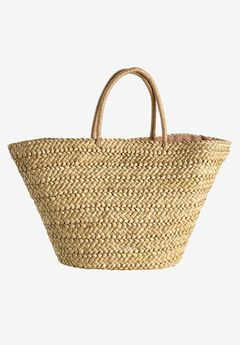 Straw Beach Bag by ellos®,
