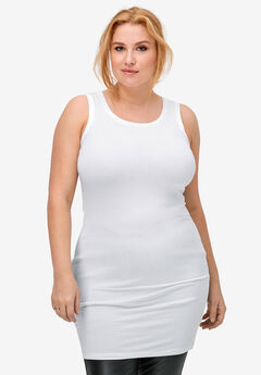59ee8931df6e2 Plus Size Casual Tank Tops for Women | Woman Within