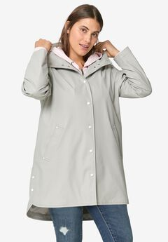 Snap-Front Raincoat,