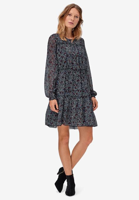 Tier Ruffle Peasant Dress by ellos®
