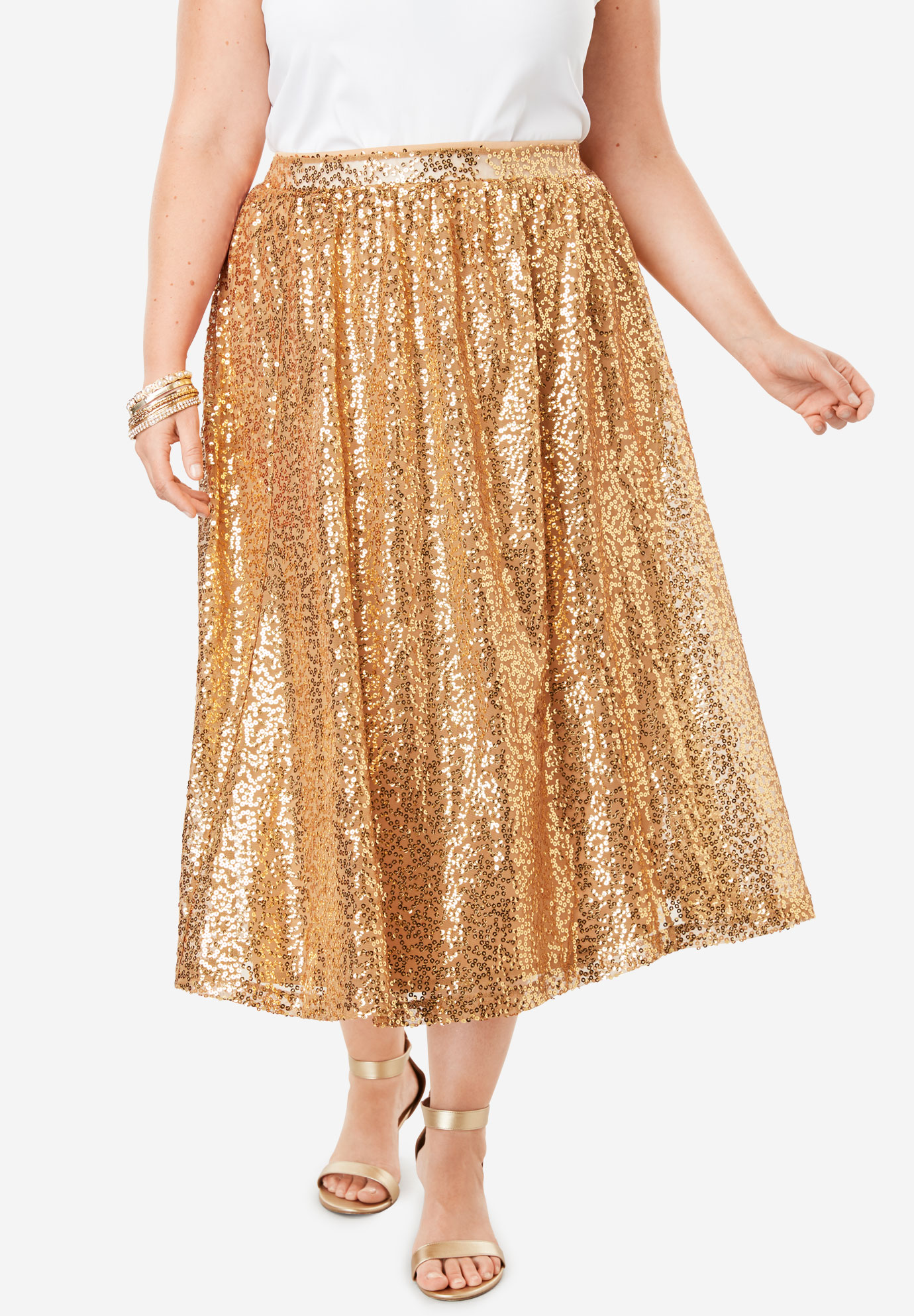 Sequin Skirt,