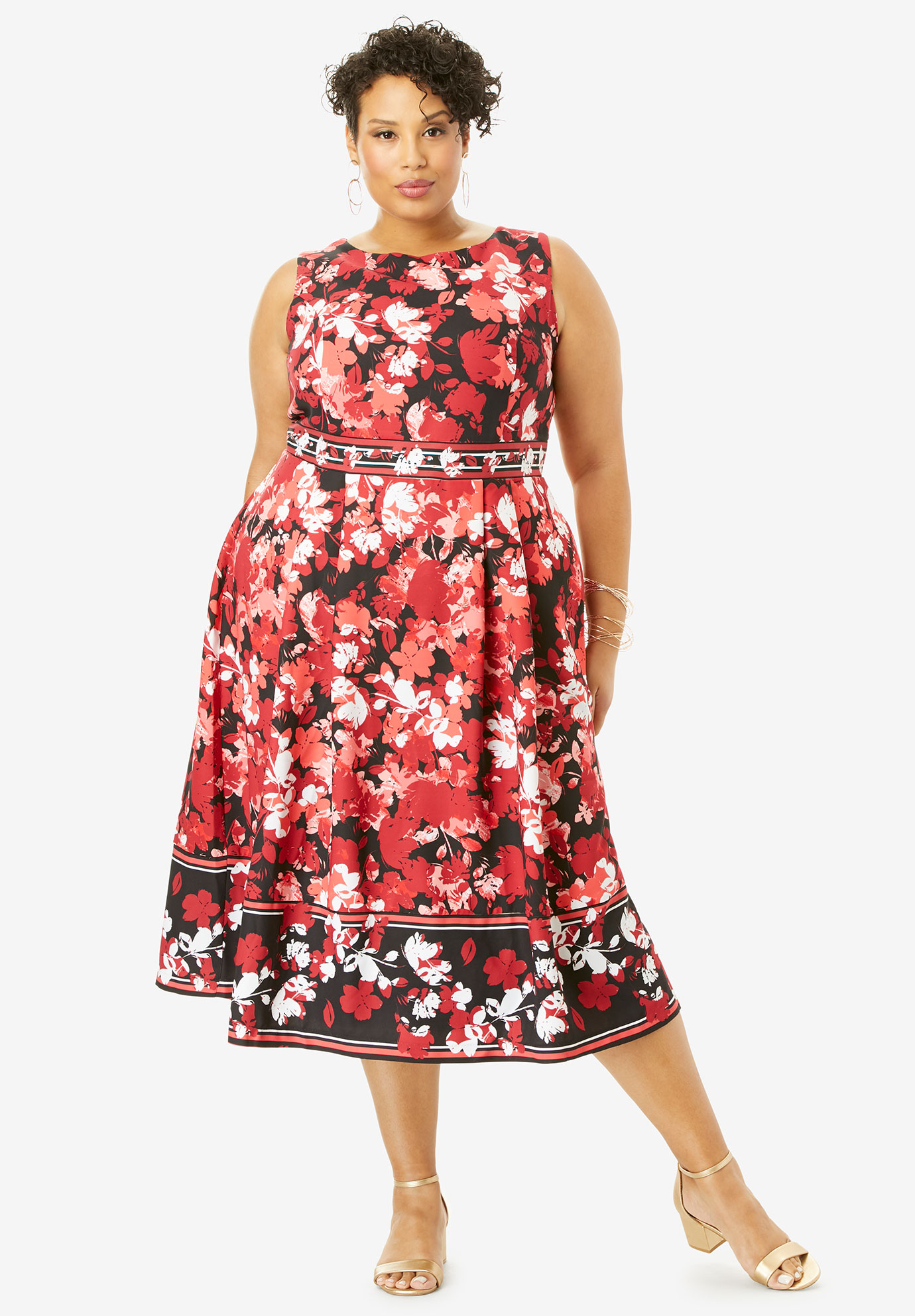 Fit & Flare Fashion Dress,