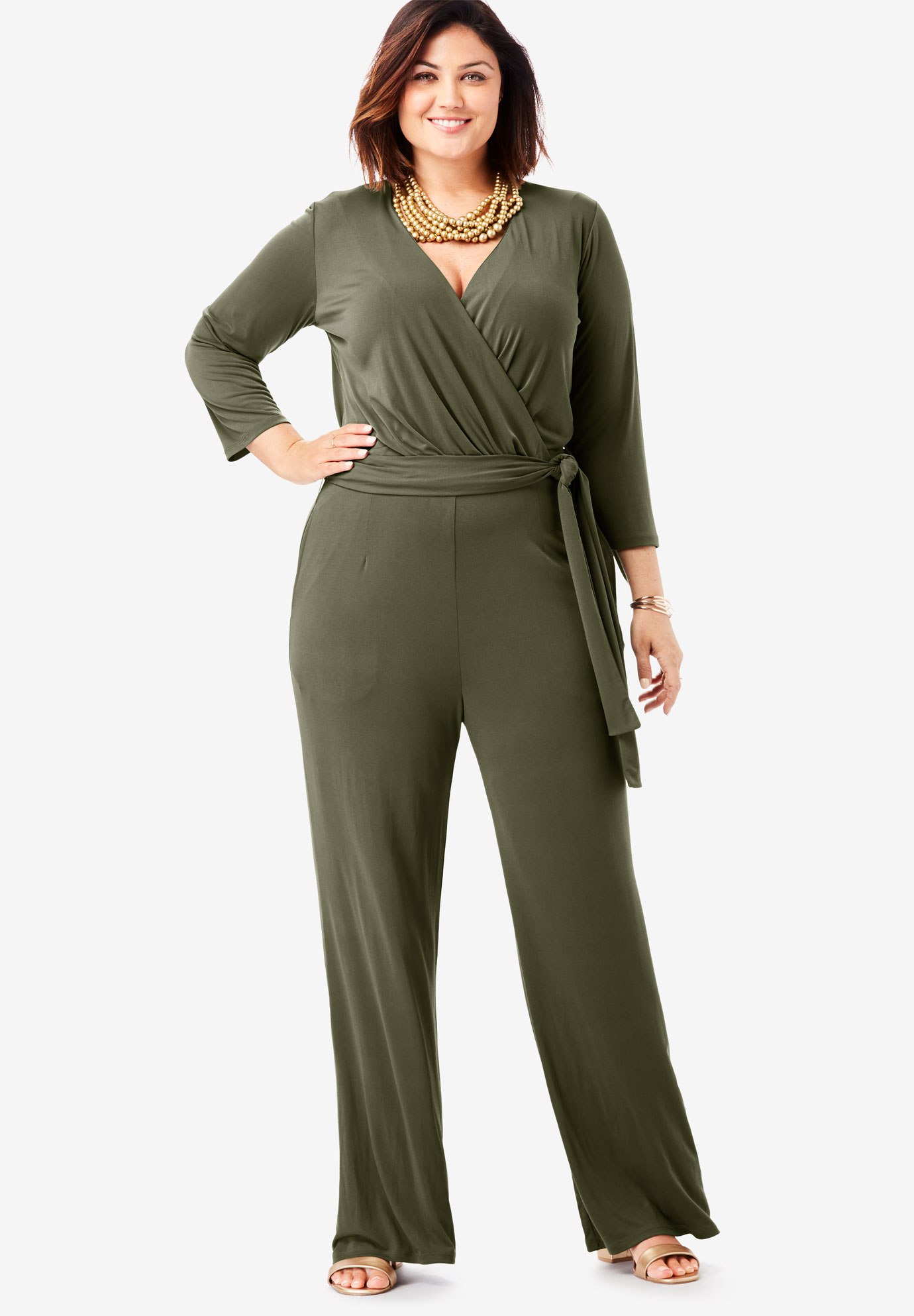 Wide Leg Jumpsuit,