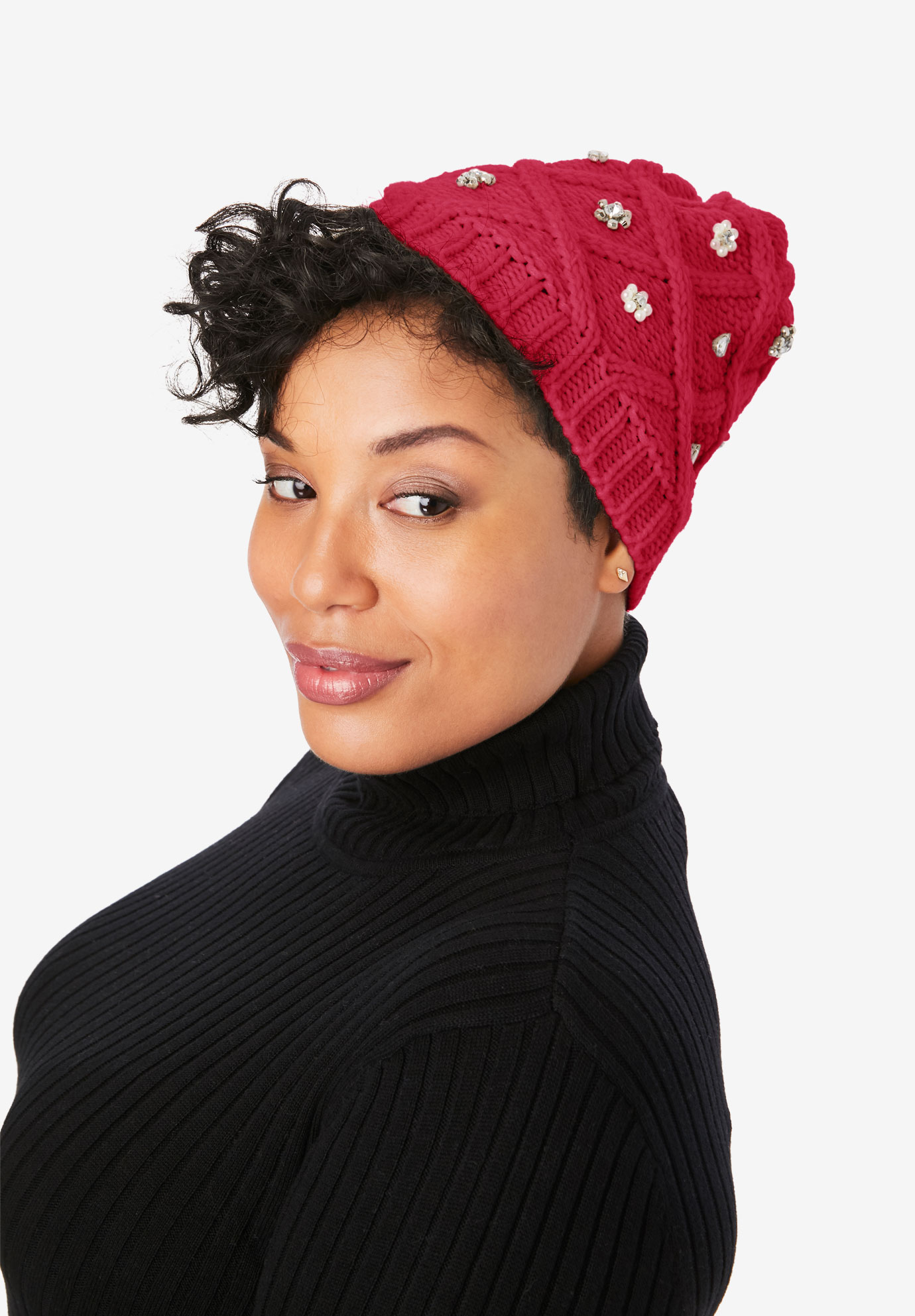 Jewel Hat, CLASSIC RED