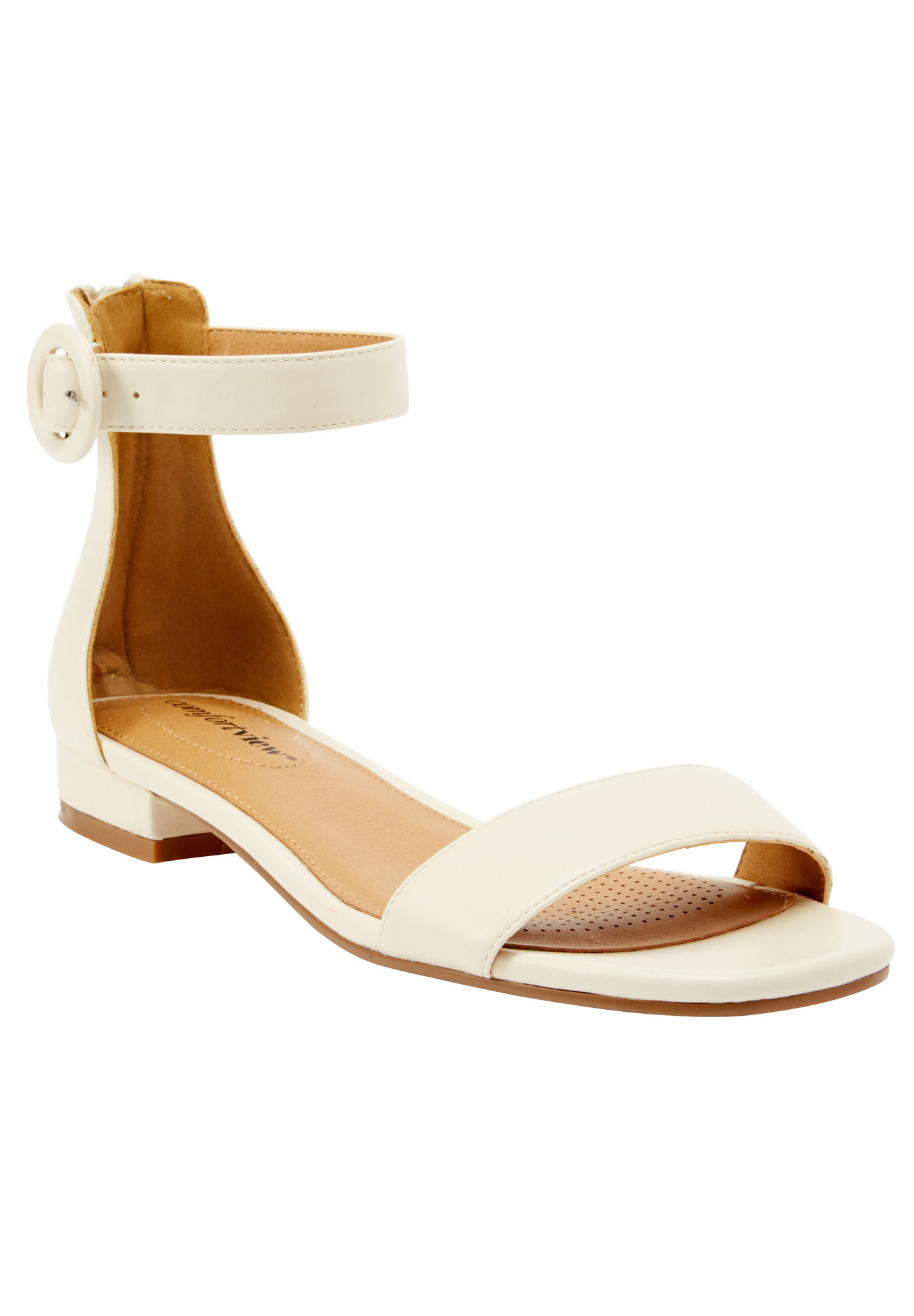 Alora Sandals by Comfortview®, OATMEAL, hi-res