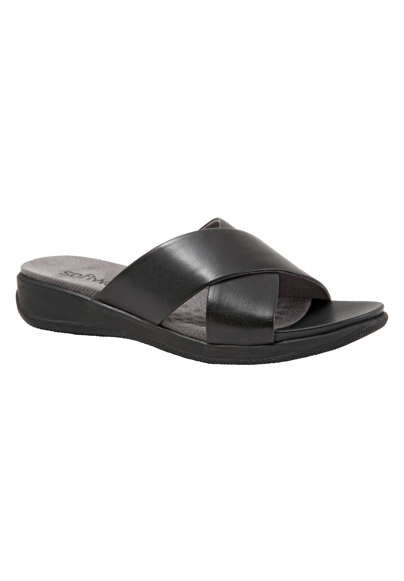 Tillman Sandals by SoftWalk®, BLACK, hi-res