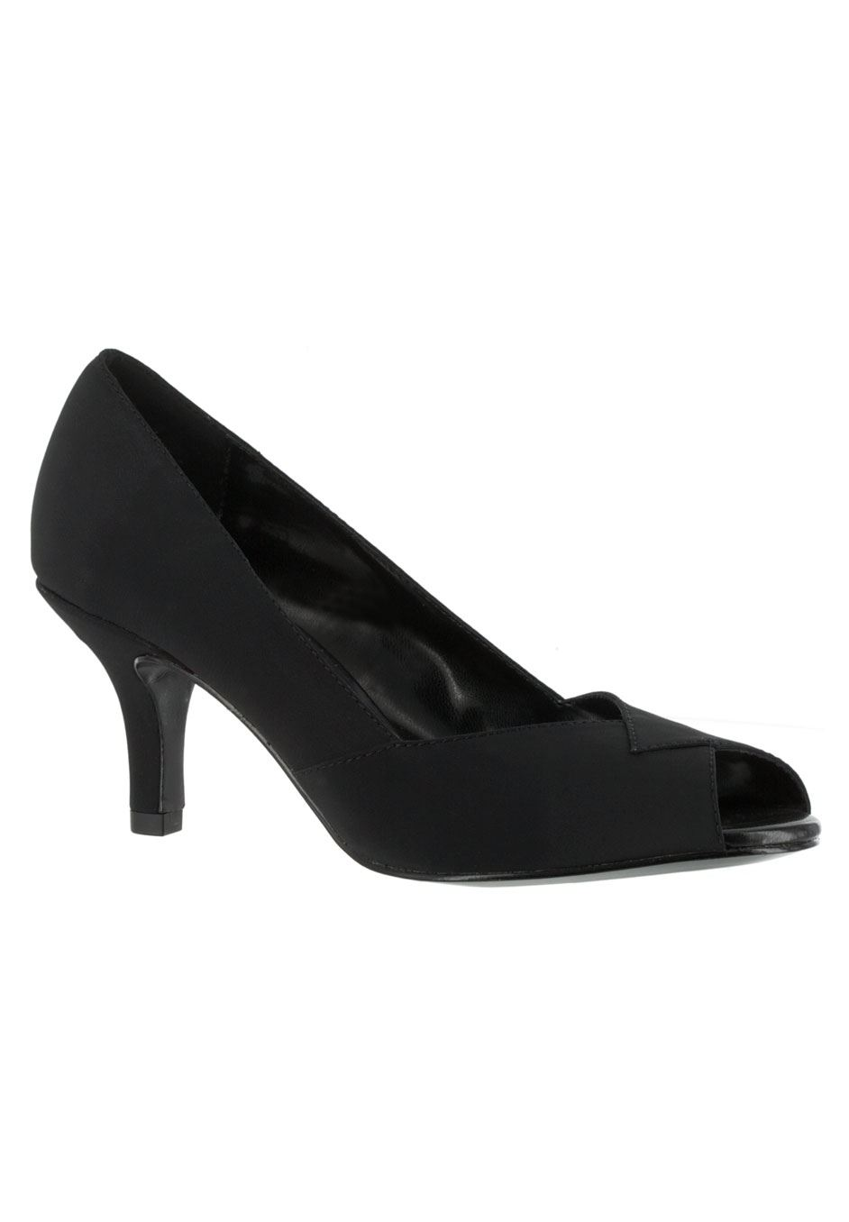 Ravish Peep-Toe Pump by Easy Street®,