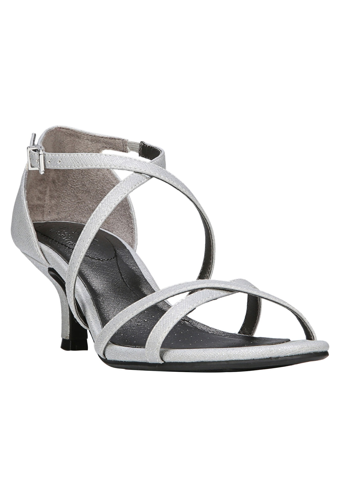Flaunt Sandals by LifeStride®, SILVER, hi-res